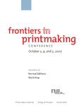 Frontiers in Printmaking Conference by School of Art