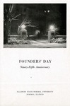 1952 Founder's Day Banquet Program by Illinois State University
