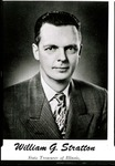 1953 Founder's Day Planning Document State Treasurer's Photograph by Illinois State University