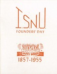 1955 Founder's Day Dinner Program by Illinois State University
