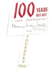 1957 Founder's Day Name Tags by Illinois State University