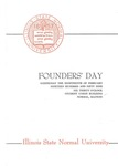 1959 Founder's Day Dinner Program by Illinois State University