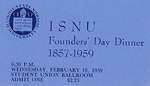 1959 Founder's Day Dinner Tickets