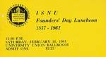 1961 Founder's Day Symposium and Luncheon Tickets by Illinois State University