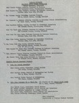 1962 Founder's Day Planning Document Foreign Students List