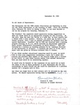 1962 Founder's Day Planning Document Suggestions by Illinois State University
