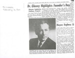 1964 Founder's Day Newspaper Articles by Illinois State University