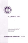 1964 Founder's Day Program of Events by Illinois State University