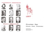 1965 Founder's Day Program by Illinois State University