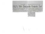 1968 Founder's Day Newspaper Articles by Illinois State University