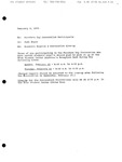 1995 Founder's Day Planning Document Convocation