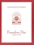 1998 Founder's Day Event Invitations by Illinois State University