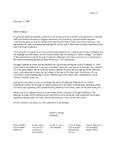 1999 Founder's Day Heritage Celebration Invitation Drafts