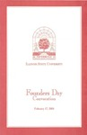 2000 Founder's Day Convocation Program by Illinois State University