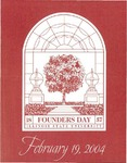 2004 Founder's Day Event Invitations