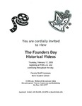 2005 Founder's Day Event Invitations by Illinois State University