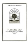 2005 Founder's Day Program of Events by Illinois State University