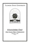 2006 Founder's Day Program of Events by Illinois State University