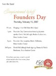 2007 Founder's Day Event Invitations by Illinois State University