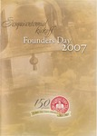 2007 Founder's Day Event Program by Illinois State University