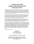 2008 Founder's Day Bell Ringing Info by Illinois State University