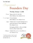 2008 Founder's Day Invitations by Illinois State University