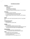 2008 Founder's Day Plans and To Do Lists by Barbara J. Todd