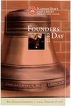 2009 Founder's Day Bell Ringing Info by Illinois State University