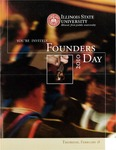 2010 Founder's Day Schedule of Events by Illinois State University