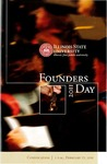 2011 Founder's Day Convocation Program by Illinois State University