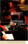 2012 Founder's Day Convocation Program by Illinois State University