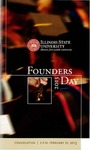 2013 Founder's Day Program by Illinois State University