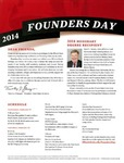 2014 Founder's Day Invitation by Illinois State University