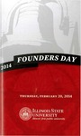 2014 Founder's Day Program by Illinois State University