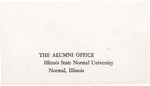 Undated Founder's Day Envelopes by Illinois State University