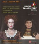 2014 Illinois Shakespeare Festival Program