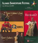 2015 Illinois Shakespeare Festival Program by School of Theatre and Dance
