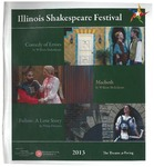 2013 Illinois Shakespeare Festival Program