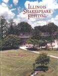 2000 Illinois Shakespeare Festival Program by School of Theatre and Dance
