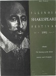 1991 Illinois Shakespeare Festival Program by School of Theatre and Dance