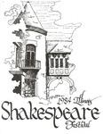 1984 Illinois Shakespeare Festival Program