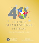 2017 Illinois Shakespeare Festival Program