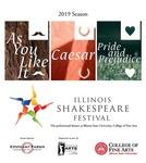 2019 Illinois Shakespeare Festival Program