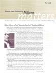 Milner Matters Fall 2008