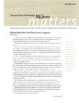 Milner Matters Spring 2008 by Milner Library