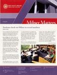 Milner Matters Spring 2010 by Milner Library