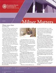 Milner Matters Fall 2012 by Milner Library