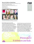 Normal Editions Workshop Newsletter, 2020-21