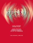 Red Note New Music Festival Program, 2015
