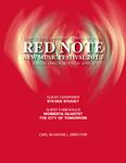 Red Note New Music Festival Program, 2015